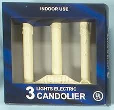 9 5 single light ivory candolier christmas indoor candle l christmas candles