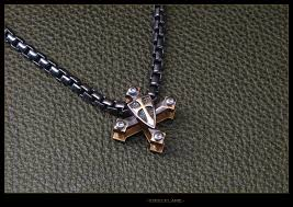 double cross necklace images Crusader double cross steel flame jpg
