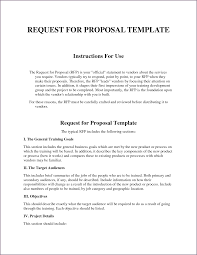 rfp cover letter template letter for project free residential lease