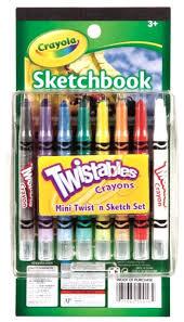 crayola mini twist u0027n sketch set toys