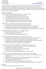 Cook Resume Sample Pdf Sample Chef Resume Sample Pastry Chef Resume Chef Resume Examples