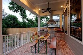outdoor kitchen flooring ideas home design and decor ideas
