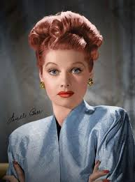 lucille ball vintage hair inspiration lucille ball