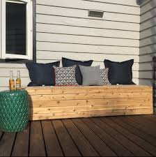 Diy Backyard Storage Bench by Diy Outdoor Storage Bench U2013 Better Remade