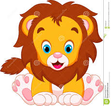 cartoon baby lion clipart clipartsgram com