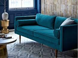 Blue Modern Sofa Bright Blue Modern Living Room Design Sofa Relaxing