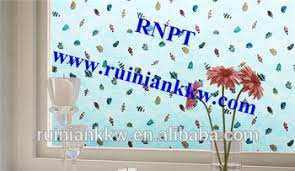 Bathroom Door Stickers Rnpt Printed Static Window Film Tm73 Y073 Fancy Glass Bathroom