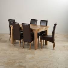 fabulous oak extending dining table and chairs with oxford solid