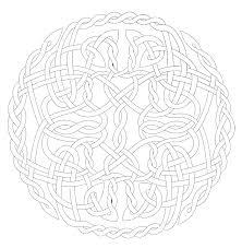 celtic mandala coloring page mandalas print