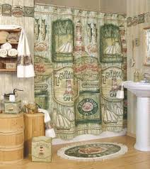 Fishing Shower Curtain Bathroom Accessories At Pelican Bay Lighthouse Co