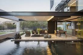 Contemporary Architecture Contemporary Architecture Featuring Glass Walls And Artistic