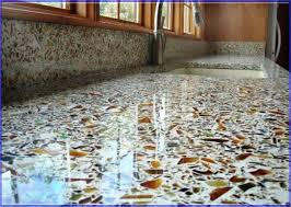 recycled glass backsplashes for kitchens glass tile kitchen