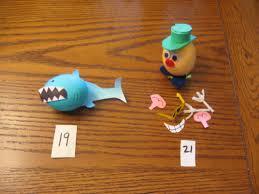 Shark Egg And Mr Potato Head Easter Egg Easter Egg