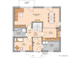 Haus Grundriss Familienhaus Magnum Von Kern Haus überdachte Terrasse