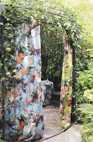 wall fabric for curtains upholstery floral pattern nature