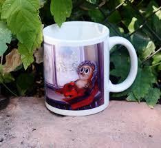 unique coffee mug merry christmas hedgehog timothy teacup