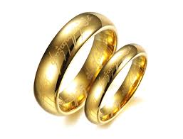 wedding ring dubai hot dubai gold plated men s jewelry tungsten lord of the rings