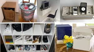 Build A Charging Station Top Ten Diy Charging Stations Revisted Apartment Therapy