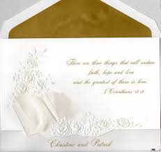 Beautiful Invitation Card Biblical Quotes For Wedding Cards Quotesgram Wedding Invitation