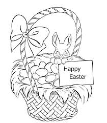 blank easter baskets blank easter basket coloring page amazing pages about remodel