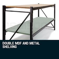Heavy Duty Garage Shelving by Heavy Duty Adjustablework Bench Garage Shelving Shop Baumr Ag
