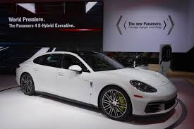 Porsche Panamera Edition - la porsche debuts panamera executive editions