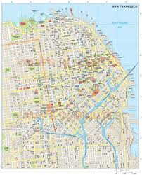 san francisco hotel map pdf royalty free san francisco illustrator vector format city map