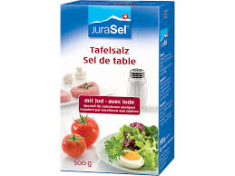 sel de cuisine table salts salz ch