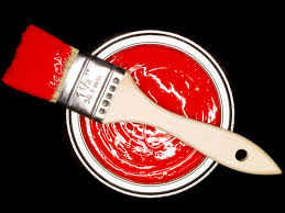 red paint red paint ecouterre