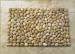 River Rock Bathroom Ideas River Rock Tile Bathroom Floor Wood Floors
