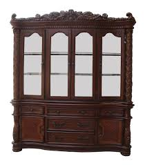 China Cabinets With Glass Doors Furniture White Credenza With Glass Doors Dining Room Sideboard