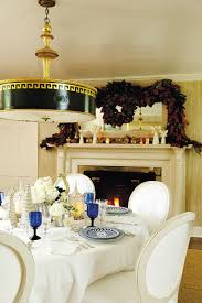 2 holiday mantels from bunny williams room set mantels and note