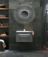 Slate Tiled Bathrooms Black Slate Tile For Bathroom Photogiraffe Me