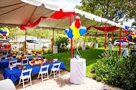 Outdoor Party Decoration Ideas Outdoor Mickey Mouse Decorations Outdoor Designs