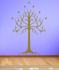 home decor wall sticker lotr lord of the rings white tree of gondor