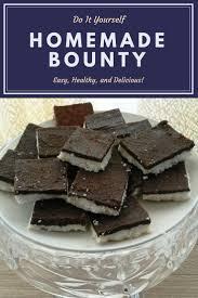 cuisine rapide sans four sain naturel bounty healthy à la noix de coco et chocolat maison