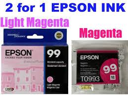 epson ink 99 light magenta epson t099620 claria hi definition ink cartridge light magenta