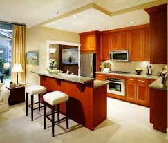 small kitchen with island design ideas small kitchen design with breakfast bar outofhome