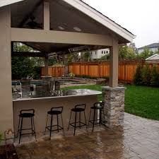 Bbq Patio Designs Prissy Ideas Patio Bbq Bbq Counter Pool House And Paver Barn