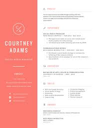 Resume Samples For Designers by Free Online Resume Maker Canva