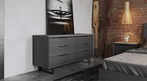 urbano gray oak contemporary bedroom dressers modern bedroom dresser