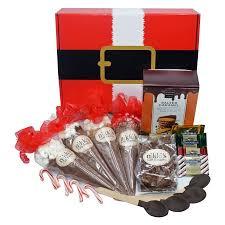 hot chocolate gift basket santas chocolate cheer hot chocolate gift basket walmart