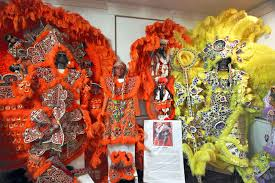 new orleans costumes tradition of mardi gras indians in new orleans