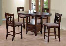 espresso dining table with leaf empire espresso 7pc counter height dining set lexington overstock