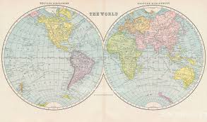 Antique World Map by 1902 Map Of The World Swmaps Com
