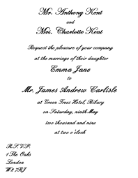 wedding card from groom to invitation wording etiquette