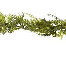 ashland classic greenery fern garland garlands centerpieces and