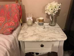 Diy Marble Coffee Table by Diy Marble Bedside Table Afshanesque
