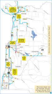 Metro Center Map by Southeast King County Emergency Service Network King County