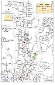 Austin Marathon Map by East Texas Half Marathon U2013 Net